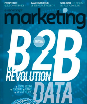 Marketing Magazine spécial B2B sur le Marketing BtoB et la Data