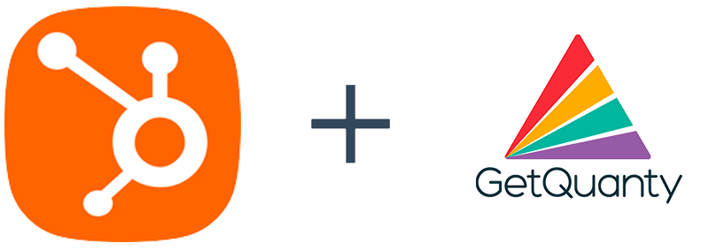 Hubspot and GetQuanty Logo